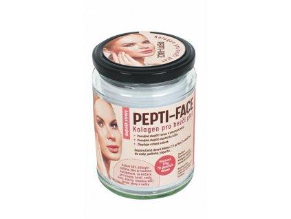 PEPTI-FACE Kolagen pro hezčí pleť a vlasy - doplněk stravy 175 g