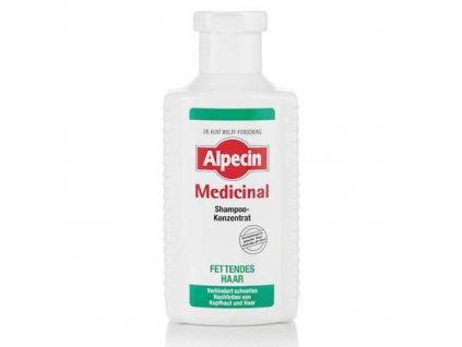 Šampon na mastné vlasy (Medicinal Shampoo Concentrate Oily Hair) 200 ml
