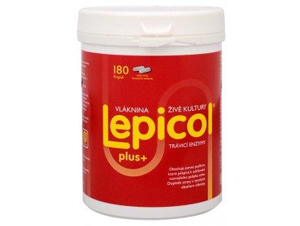 Lepicol Plus 180 kapslí