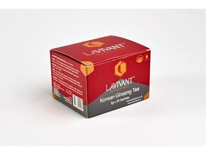 LAVIVANT Instantní čaj z korejského ženšenu 20 ks
