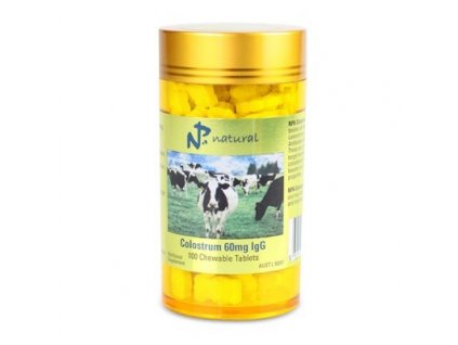 Colostrum 60mg IgG 100 žvýkacích tablet