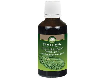 Olej ze sibiřské jedle bělokoré 50 ml