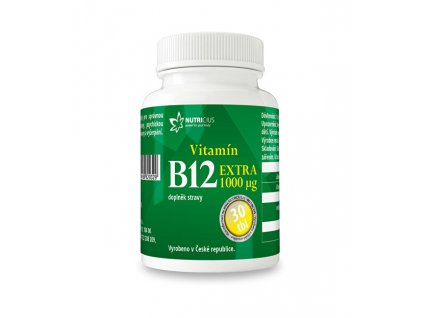 Vitamín B12 EXTRA 30 tbl.