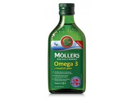 Möller´s rybí olej Omega 3 z tresčích jater 250 ml