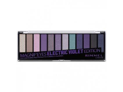 Paletka 12 očních stínů MagnifEyes (Eyeshadow Palette) 14,16 g
