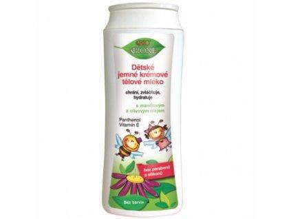 Dětské jemné krémové tělové mléko 200 ml