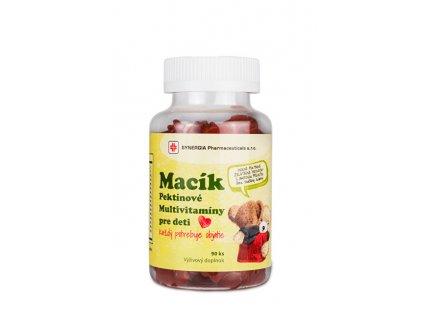 Macík - Pektinové multivitaminy pro děti 90 ks