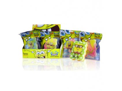 Dětská houba na mytí Sponge Bob (Bob Sponge Bath Sponges)