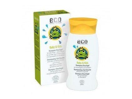 Dětský šampon a sprchový gel v jednom BIO 200ml