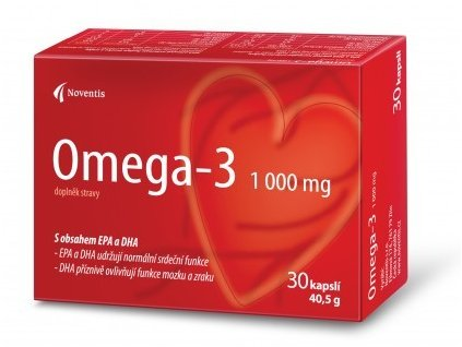 Omega–3 1000 mg 30 kapslí