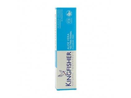 Zubní pasta Kingfisher Aloe, Tea tree & Fenykl 100 ml