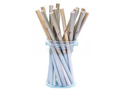 Bambusové brčko Natural 1 ks