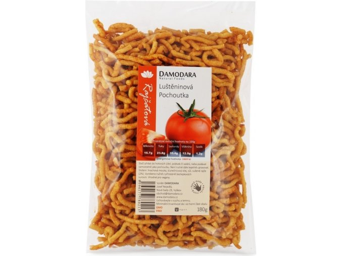 Damodara Luštěninová pochoutka rajčatová 180g