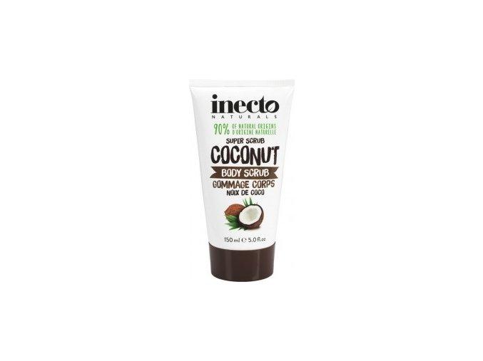 Inecto Tělový peeling - kokos 250ml