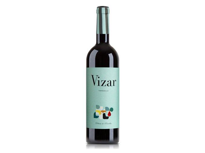 Vizar červené suché víno 750ml