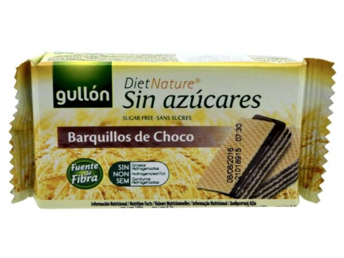 Gullón Vafl čokoladové 70g