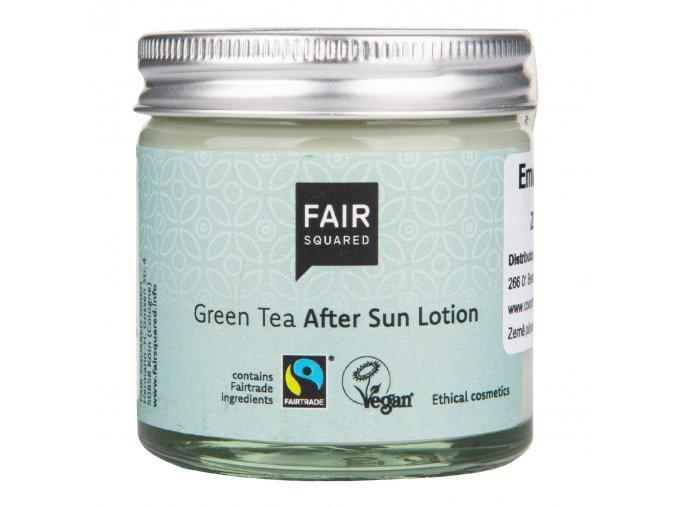 VÝPRODEJ!!!Emulze po opalování zelený čaj 50ml ZWP FAIR SQUARED