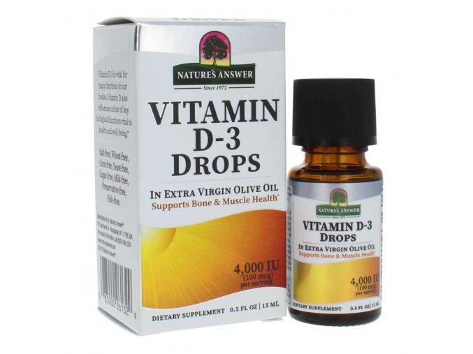 NA: Natures Answer VITAMIN D-3, 15 ml