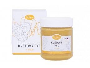 Květový pyl v medu Pleva