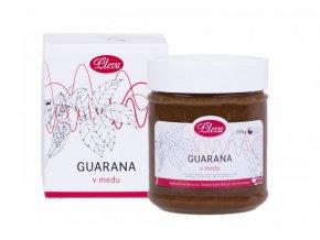 Guarana v medu Pleva