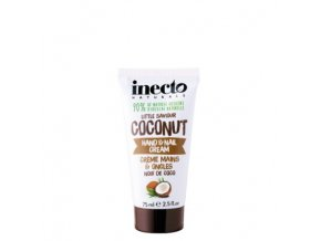 Inecto Krém na ruce & nehty - kokos 75ml
