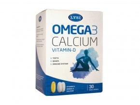 Omega-3 + D a Kalcium na 30 dnů
