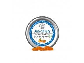 Bio Bachovky Pastilky pomerančovo-mátová příchuť Anti-stres 45 g