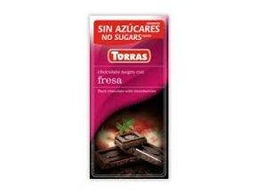 Torras čokolada s jahodou 75g