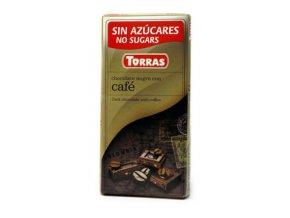 Torras čokolada s kávou 75g