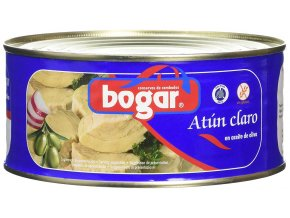 Bogar Tuňák žlutoploutvý v rostlinném oleji 170g