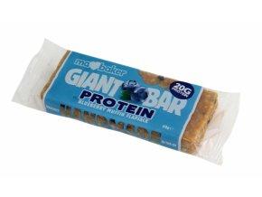 Marksman Protein flapjack borůvkový muffin 90g Ma Baker
