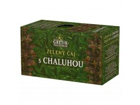 Grešík Grešík Zelený s chaluhou čaj 20x1,5g