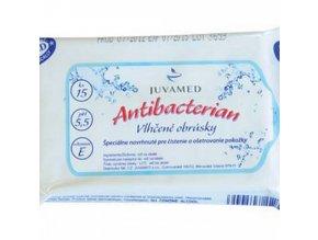 Juvamed Antibakteriální ubrousky 15ks