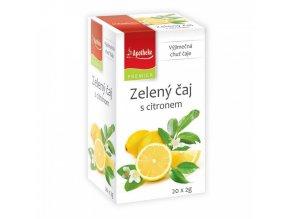 Apotheke Apotheke PREMIER Zelený čaj s citronem 20x2g