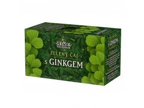Grešík Grešík Zelený s ginkgem čaj 20x1,5g