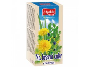 Apotheke Apotheke Krevní cukr čaj 20x1,5g