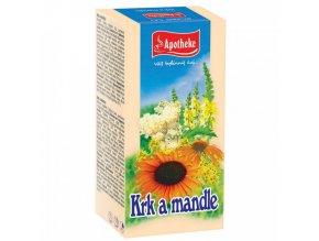 Apotheke Apotheke Krk a mandle čaj 20x1,5g