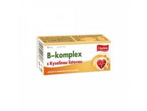 Apotheke Apotheke B-komplex s kyselinou listovou 30tbl.