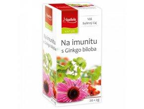 Apotheke Natur NATUR Na Imunitu s ginkgo čaj 20x2g