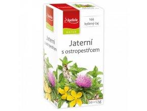 Apotheke Natur NATUR Jaterní s ostropestřcem čaj 20x1,5g