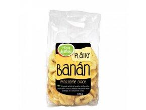 Green Apotheke Banán plátky nesířené 100g