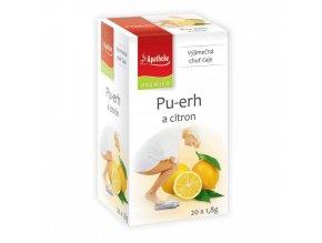 Apotheke Apotheke PREMIER Pu-erh a citron čaj 20x1,8g