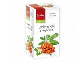 Apotheke Apotheke PREMIER Zelený čaj s rakytníkem 20x2g
