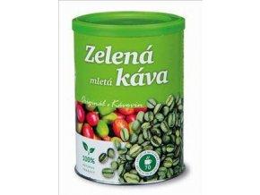 Kávoviny Zelená káva 230g dóza