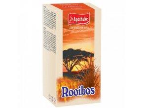 Apotheke Apotheke Rooibos čaj 20x1,5g