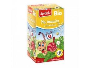 Pohádkový čaj POHÁDKOVÝ ČAJ BIO Na imunitu s jahodníkem 20x2g
