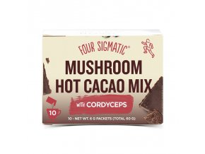 Cacao + Cordyceps mushroom mix 10 sáčků Four Sigmatic