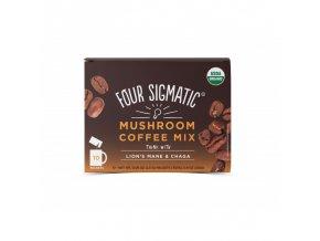 Coffee + Lion's Mane & Chaga mushroom mix 1 sáček Four Sigmatic