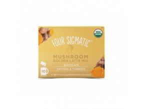 Golden Latte + Shiitake & Turmeric mushroom mix 1 sáček Four Sigmatic