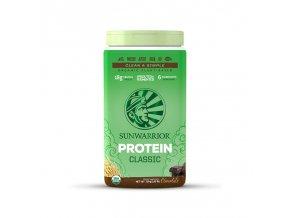 Protein Classic Bio čokoládový 750 g Sunwarrior